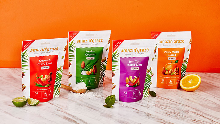 It's much easier to identify which ingredients are used on the packets, like their range of nut mixes.