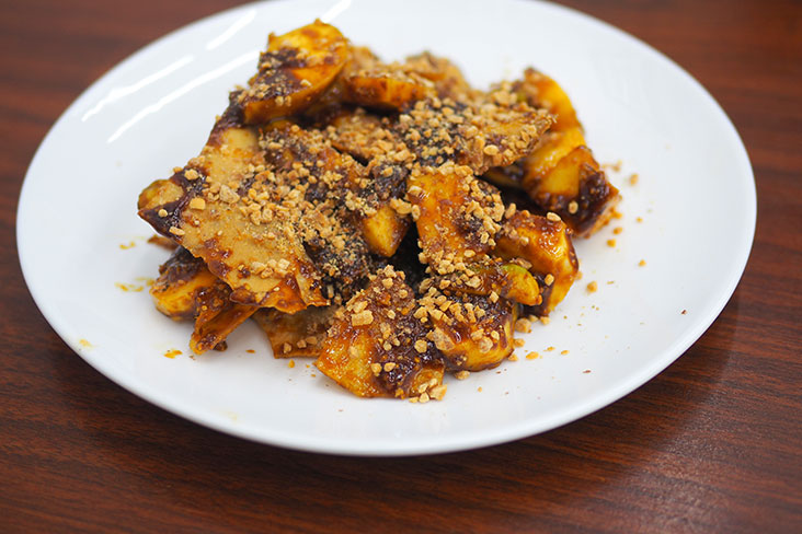Fruit rojak is one of the surprise delicious finds here.