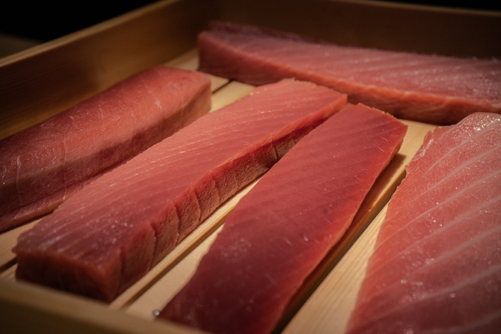 Expect to dine on fresh sashimi sourced from Japan at Sushi Ryu