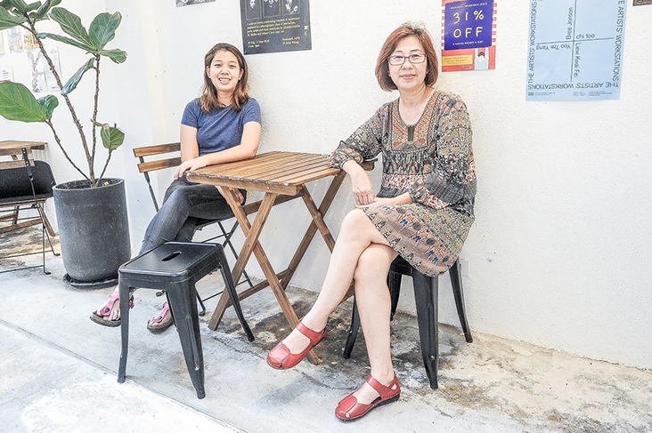 Mother-and-daughter pair, Kim Ngoh and Sarah Tan started artisanal ice cream maker, Minus 4 Degrees, last year. – Pictures by Shafwan Zaidon