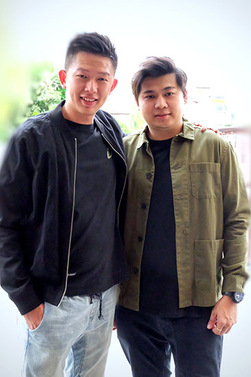 Co-founders Mika Goh (right) and Bone Cheah (left) got the idea for their matcha product from their girlfriends.