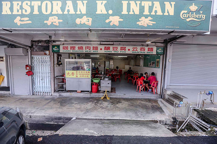 Find the restaurant in the quieter side of PJ's Section 17 neighbourhood.