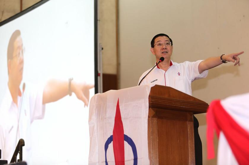 Lim Guan Eng said the issue will be brought up within his party first as it is not official DAP policy. — File pic
