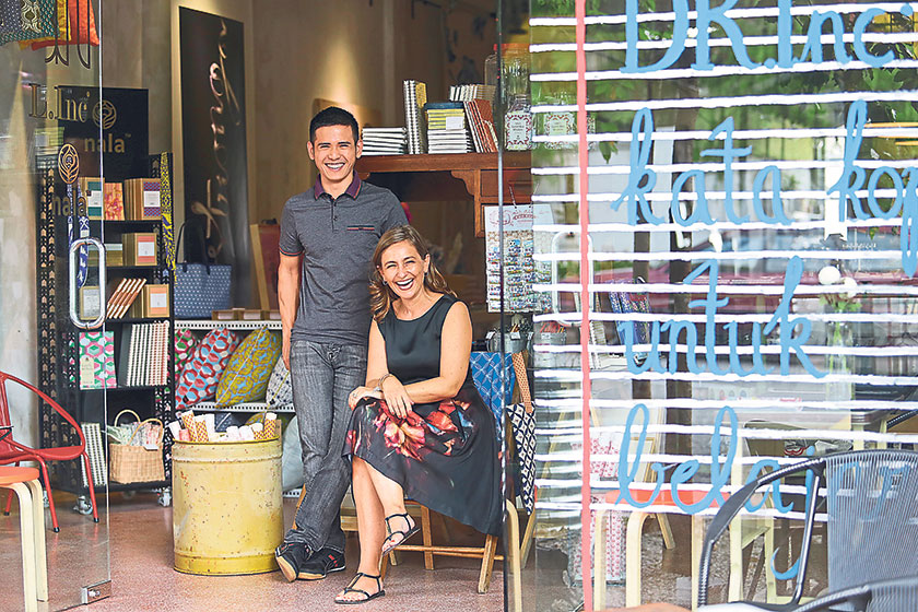 DR.Inc founders Jeremy Chin and Lisette Scheers believe in aesthetically correct designs and a good cup of coffee. – Pictures by Choo Choy May