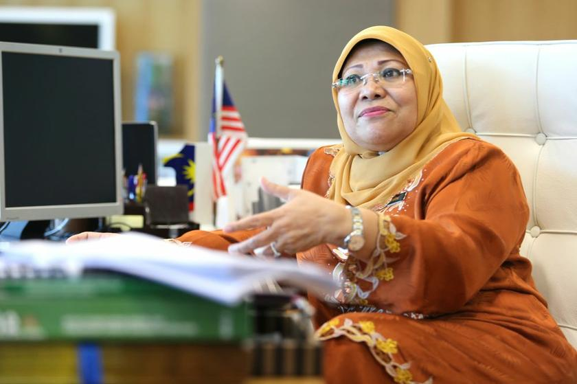 Women, Family and Community Development Minister Datuk Seri Rohani Abdul Karim. – Picture by Choo Choy May