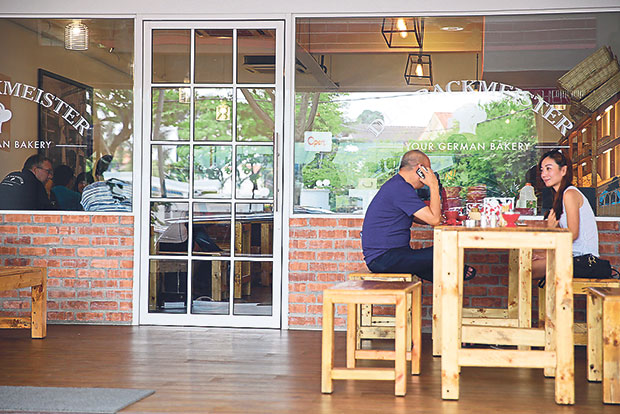 Der Backmeister is fast becoming a hangout for many in Taman Tun Dr Ismail for breads and pastries