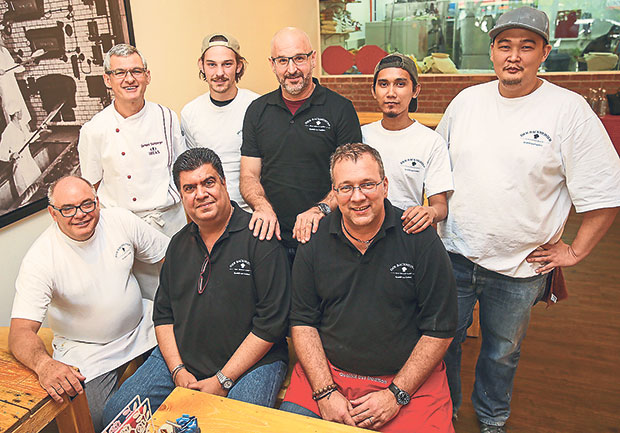 The people behind Der Backmeister (from left to right, front row) Klaus Adolph, Bobby Brar, Oliver Rollar, (from left to right, back row) Ireks Gerhard Stichlberger, Marcus Schlensog, Chris Gruber, Mohamad Shafik, Steve Tan