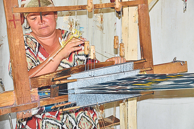 Frankitas sources its fabrics through NGOs and weaving communities