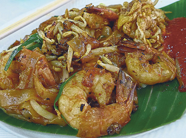 At times, the use of fancy/premium ingredients such as larger prawns, mantis prawns or even crab meat may or may not help elevate the char kway teow experience but the wok hei is critical