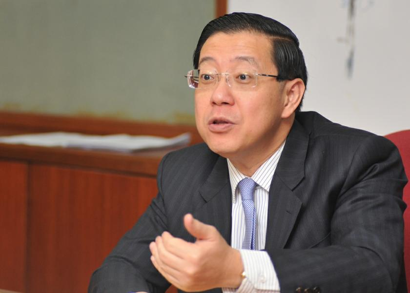 According to Penang DAP chief Chow Kon Yeow, Lim Guan Eng (pic) will be charged today under Section 23 of the Malaysian Anti-Corruption Commission Act and Section 165 of the Penal Code. —Picture by KE Ooi