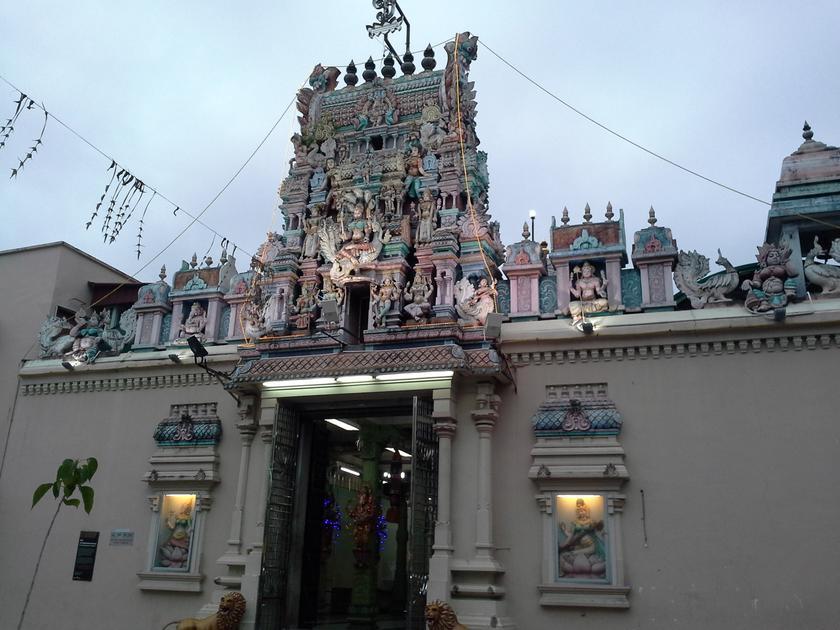 Kuil tertua di Tapak Warisan Dunia Georgetown.