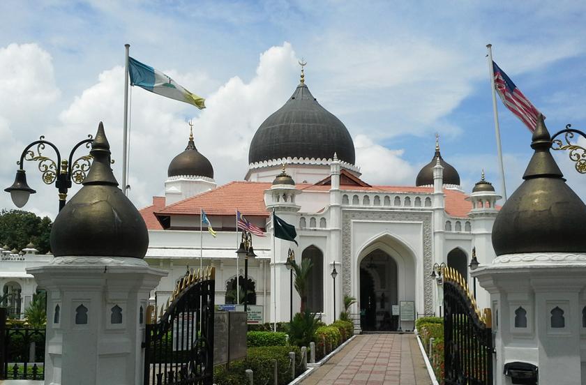 Masjid ini 'dihilangkan' dalam 'Interlok: Edisi Murid'.