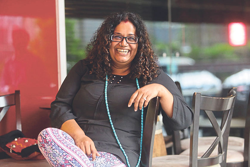 Mahi Ramakrishnan has been an investigative journalist working in the field for 19 years and a film-maker for six. — Picture by Choo Choy May