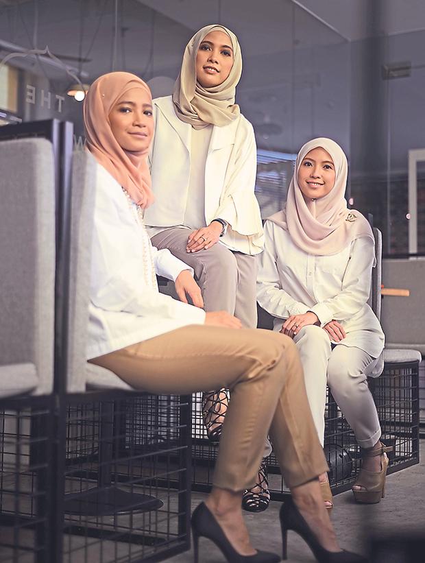 Amirah Hanis, Nurul Afidah Zulkifli and Fatimah Ani Syahira Zulkifli are sisters who started homegrown brand Mimpikita.