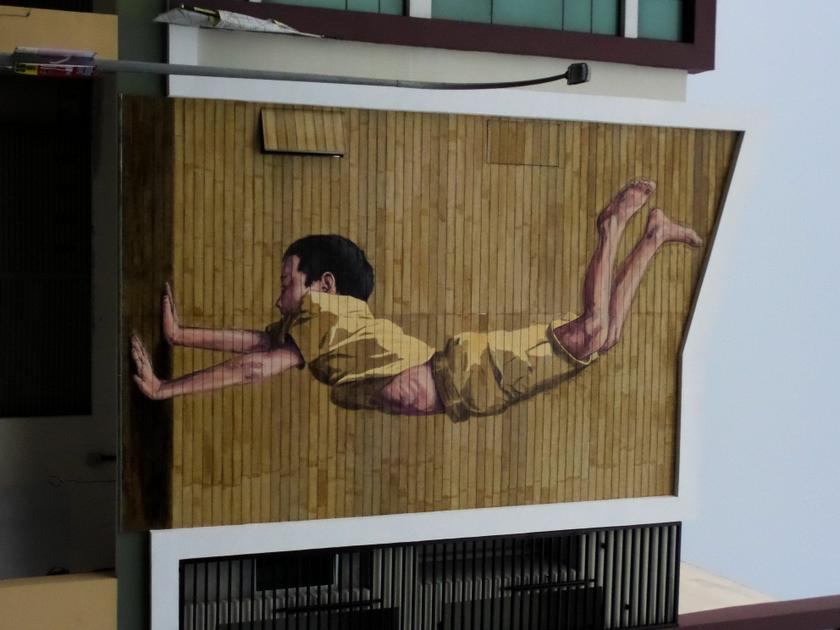 Another mural by Ernest Zacharevic. — Picture courtesy of Thomas Fann