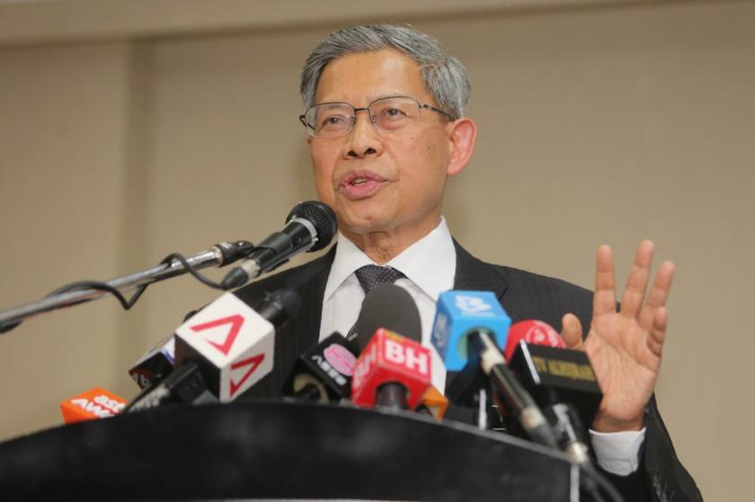 Datuk Seri Mustapa Mohamed said the TPPA will allow more trade unions to be formed and in the process, according workers more opportunities to voice their views. — Picture by Choo Choy May