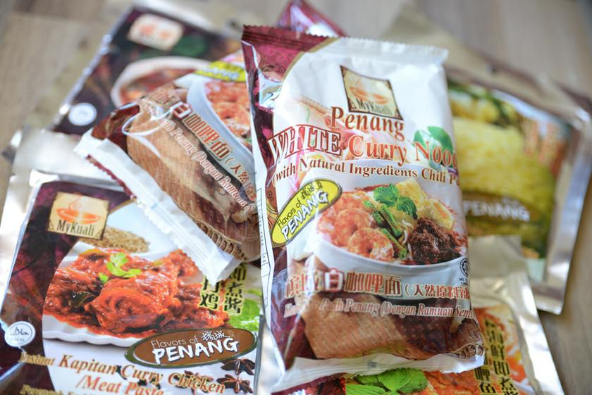 More than 30 different types of natural, traditional ingredients are used to make the paste in every MyKuali Penang White Curry Noodle packet.