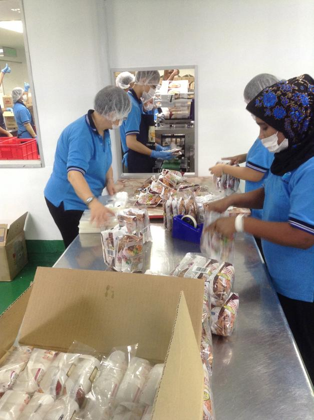 The packing production line at the facility under Sky Resources that will move to new premises by the middle of next year.