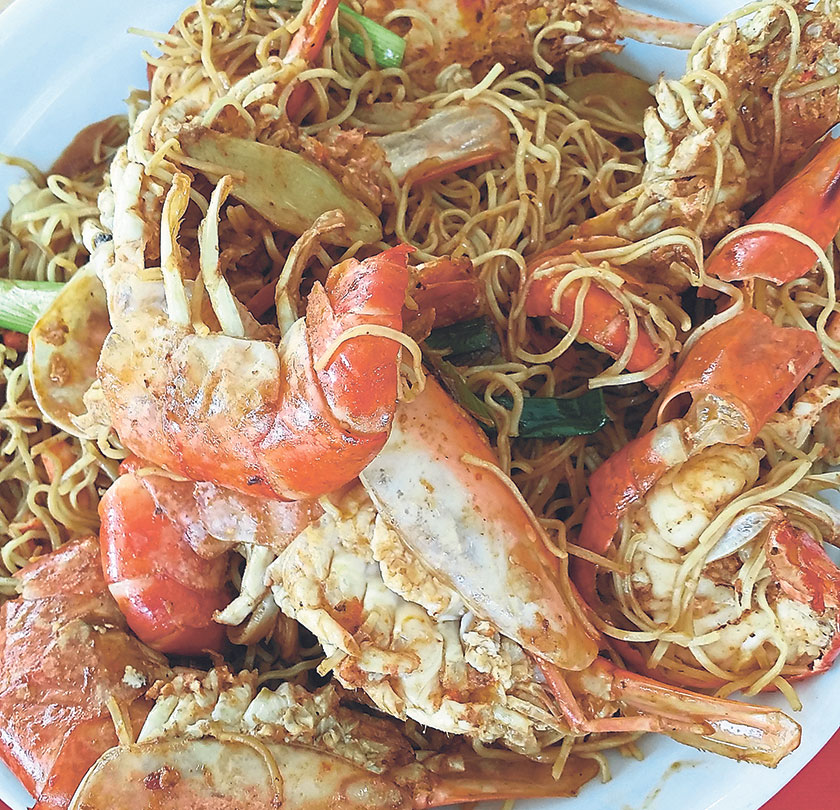 Another well-known dish is the Sang Har Meen which uses huge freshwater prawns as well. – Pictures by James Tan