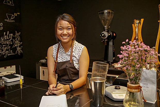 Recently Joanne Lee picked up the first runner-up prize at the Brewers Cup under the tutelage of the owners of Thirdwave