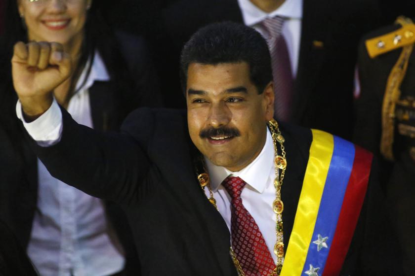Venezuelan President Nicolas Maduro said the awards were a show of 'deep gratitude'.  — Reuters pic