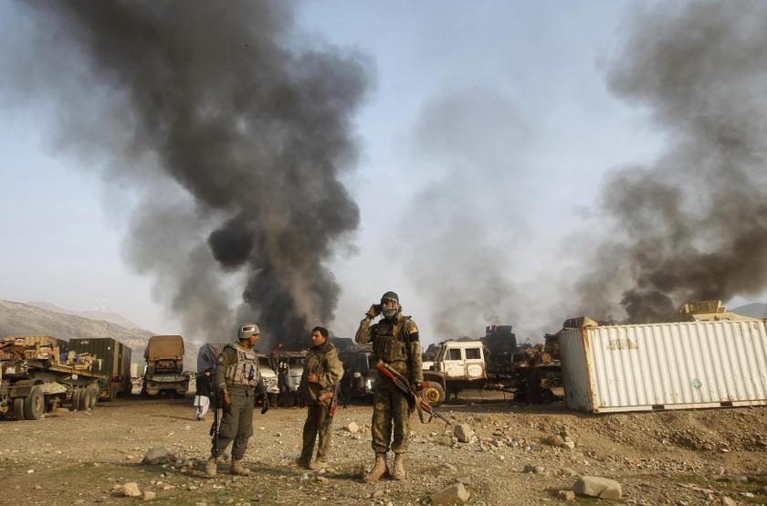 At least 29 people were killed when Islamic State (IS) gunmen attacked the facility in Jalalabad on Sunda. — Reuters pic
