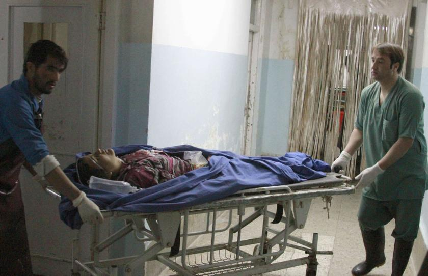 Afghanistan's healthcare system was plunged into crisis after the Taliban swept into power last month. — Reuters pic