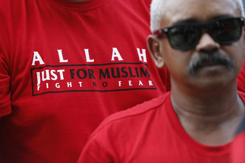 The UiTM seminar came amid the legal wrangle between Putrajaya and the Catholic Church over the use of the word 'Allah'. — Reuters pic