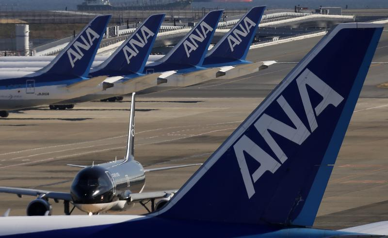 ANA predicted a record net loss of ¥510 billion for the fiscal year to March 2021, compared with ¥27.6 billion in net profit the previous year. — Reuters pic