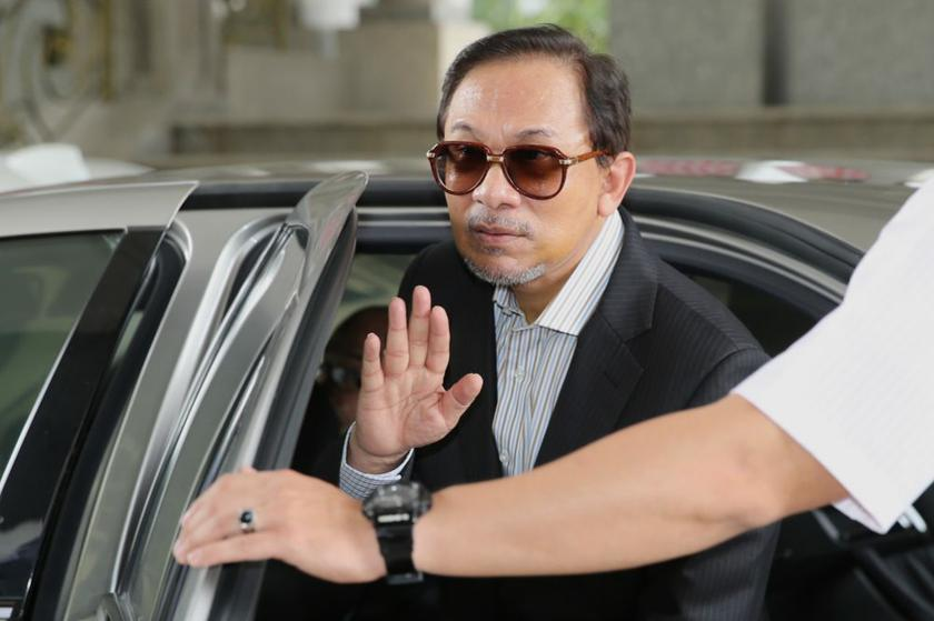 Imprisoned Datuk Seri Anwar Ibrahim says although tough times are expected ahead for Malaysians, the country's growing opposition cannot be silenced. ― File pic