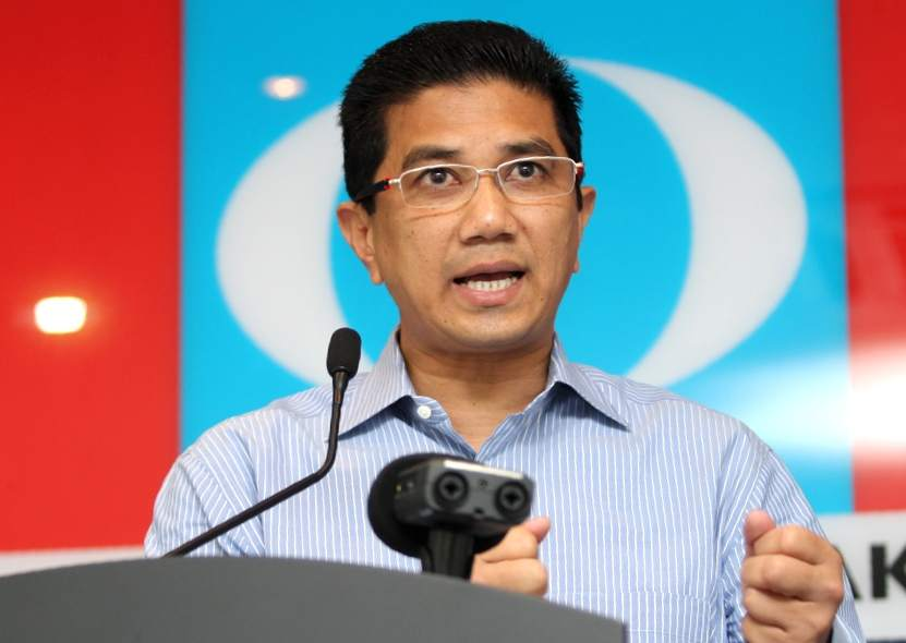 Bukit Antarabangsa assemblyman Azmin Ali will be sworn in as the Selangor mentri besar today. — Picture by choo choy may