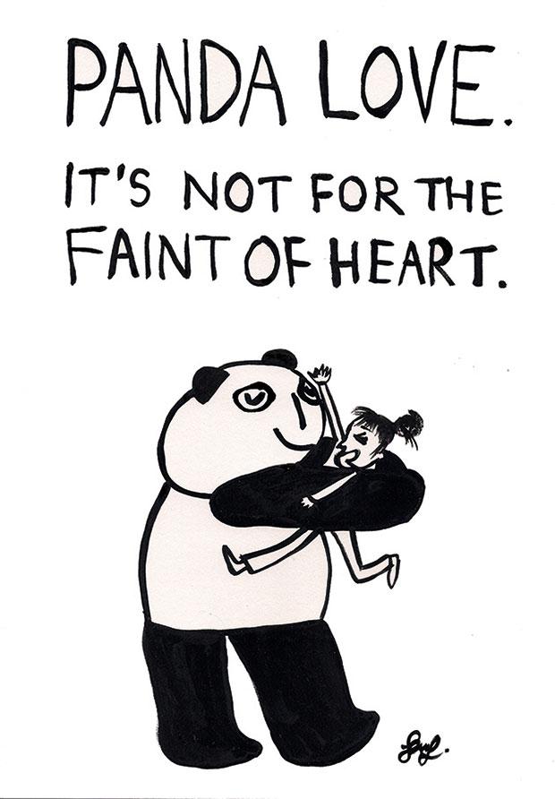 "This illustration by Sam Hepburn makes you go ""Awww..."""