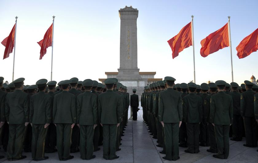 China called the military exercise a means to 'deepen exchange and cooperation'. — Reuters pic