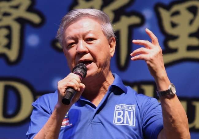 Datuk Seri Dr Chua Soi Lek.