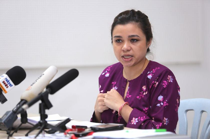 SIS' programme manager Suriani Kempe (pic) says the fatwa violated natural justice and they were not notified nor given a chance to defend themselves. ― File pic