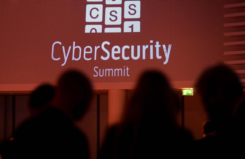 Participants talk during the Cyber Security Summit 2014 in Bonn November 12, 2013. ― Reuters pic