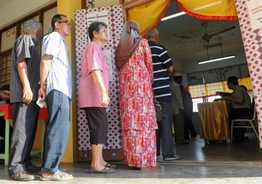 Based on the latest electoral roll gazetted last December, a total of 1,141,294 people are eligible to vote in the Sarawak polls. — AFP pic