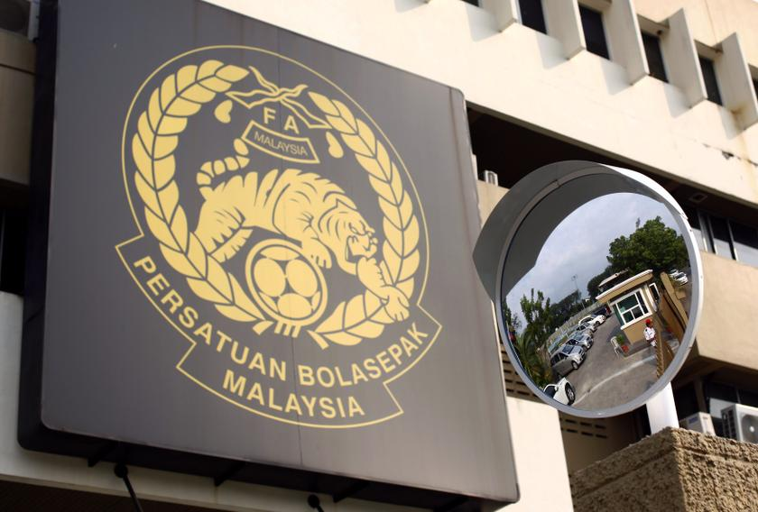 The logo of the Football Association of Malaysia (FAM) is pictured at their headquarters in Kuala Lumpur February 5, 2014. — Reuters pic