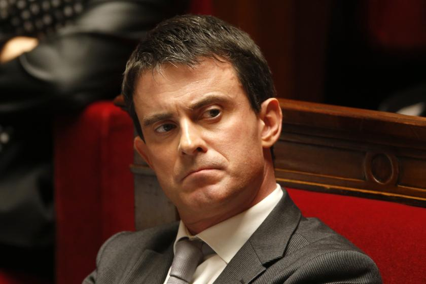 French Interior Minister Manuel Valls. ― Reuters pic