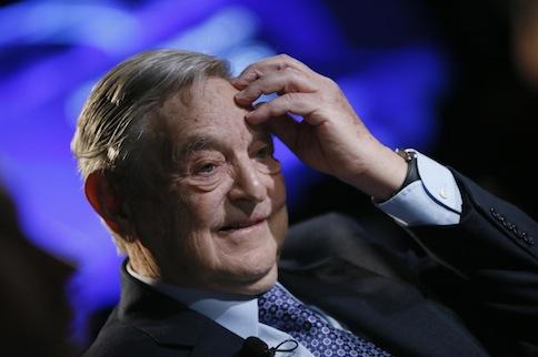 Billionaire investor George Soros of Soros Fund Management, January 26, 2013. — Reuters pic