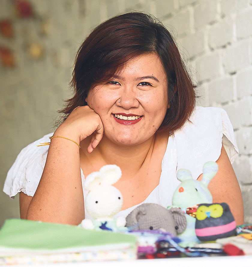 Lynn Wong found her love for crafting since she was a young girl.