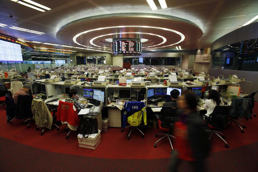 The Hang Seng Index added 0.30 per cent, or 77.81 points, to 26,300.21. — Reuters pic
