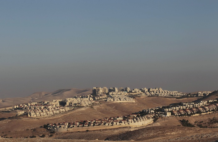 A view of the West Bank Jewish settlement of Maale Adumim is seen near Jerusalem July 25, 2013. — Reuters pic