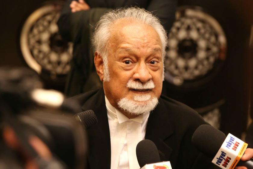 The late DAP leader Karpal Singh, who was Bukit Gelugor MP. — Picture by Choo Choy May