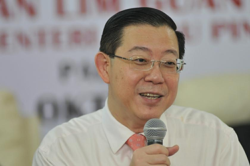 DAP's Lim Guan Eng says his party's lawmakers will reject the Bill if it comes up for voting. — Picture by KE Ooi