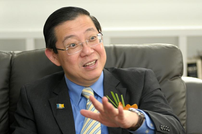 Penang Chief Minister Lim Guan Eng says Penang practises democracy, so the opposition can file any motion it wants. — Picture by KE Ooi