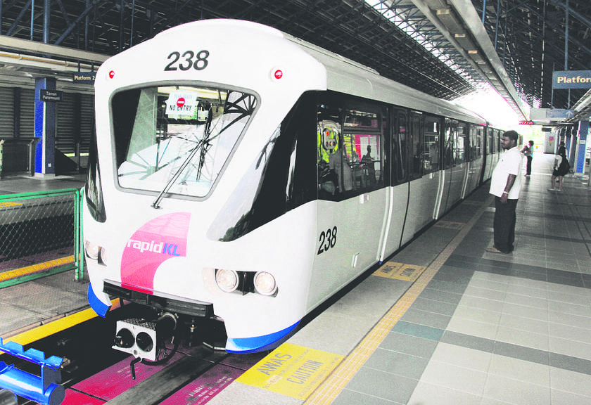Fares on LRT and Monorail services will cost more next year.