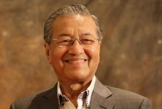 Tun Dr Mahathir Mohamad was among the other world leaders present at the late Nelson Mandela's funeral.. — Picture by Choo Choy May