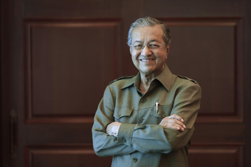 Former prime minister Tun Dr Mahathir Mohamed (pic) claimed that nothing good will come of Chinese dominance in politics or the economy as Malaysia is a multi-cultural society mostly made up of the Malays. — Reuters pic
