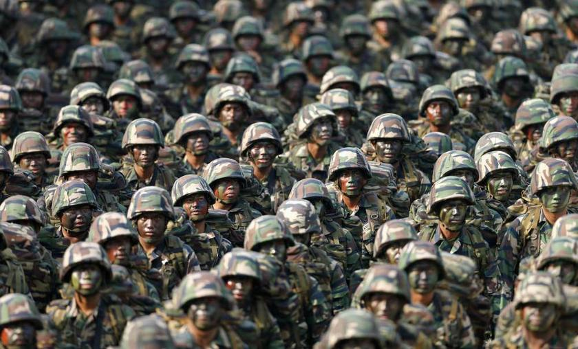 In a joint statement today, Mohamad Sabu and Liew Chin Tong said the government must provide more details about the asset recovery for the Armed Forces according to the respected service branch as a huge sum of RM2.3 billion has been allocated for it. — Reuters pic